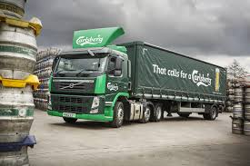 volvo trucks uk carlsberg and volvo trucks