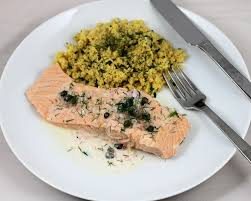 poached salmon in wine with dill tasteinspired u0027s blog