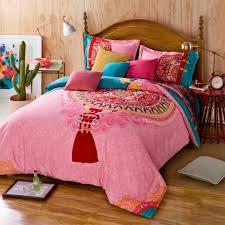 percale sheet set duvet twin full queen size 100 cotton bohemian boho style