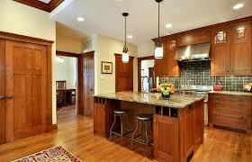 craftsman style kitchen kitchen craftsman with wine storage range