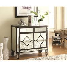 accent cabinets mirrored accent cabinet ugalleryfurniture