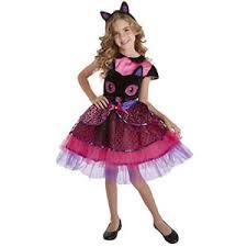 Kids Cat Halloween Costume Palamon Black Cat Face Halloween Girls Kids Costume Ebay