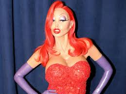 Halloween Costume Jessica Rabbit Heidi Klum U0027s Amazing Jessica Rabbit Costume Hours