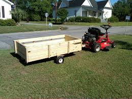 lawnmower utility trailer 4 steps with pictures