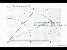 gcse maths constructions and loci web lesson 40 youtube