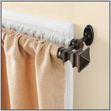 double curtain rod brackets walmart curtains home design ideas