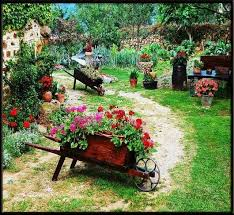 1061 best flowers on wheelbarrow u0026 bike images on pinterest