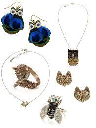 earrings accessorize animal jewellery owl necklace fox ring fox earrings owl