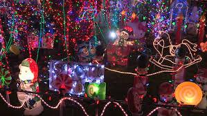 christmas light show toronto moscow russia november 28 2015 many people enjoy disco 80
