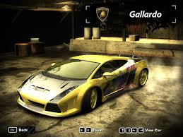 lexus cars nfsmw my need for speed most wanted cars