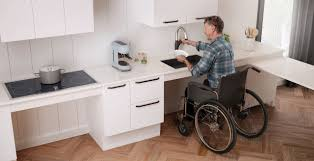 ada kitchen wall cabinet height wheelchair accessible kitchen appliances for easy meals