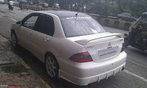 mitsubishi cedia modified pics tastefully modified cars in india page 240 team bhp