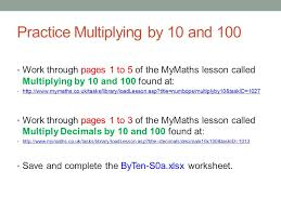 mathematics multiplication u2013 mental methods the aim of this