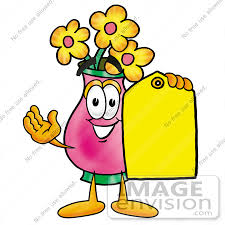 Clipart Vase Of Flowers Royalty Free Vase Of Flowers Character Stock Clipart U0026 Cartoons