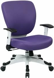Purple Desk Chair Office Star Fun Colors Fabric Chair With White Frame 5200w Free