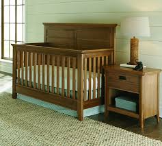 Convertable Crib Brixy Oak Park Convertible Crib Prairie N Cribs