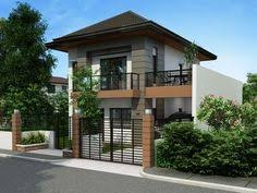 PHP Is A Two Story House Plan With  Bedrooms  Baths And - Modern designs for homes