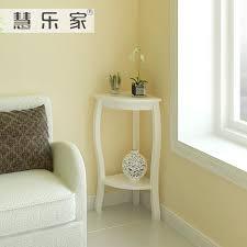 corner table for living room hui roca korean garden corner living room side table white wood
