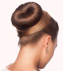 hairstyles with a hair donut to do a donut bun pictorial