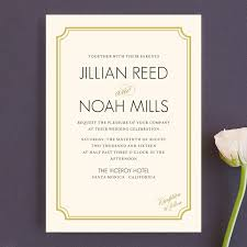 modern wedding invitations modern classic wedding invitations by clark minted
