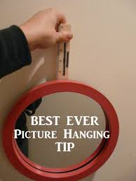 the best ever picture hanging tip celebrate every day with me