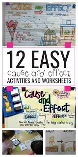 10th Grade Reading Worksheets 12 Easy Cause And Effect Activities And Worksheets Teach Junkie