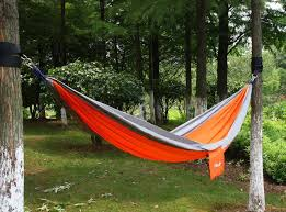 double hammock swing chair outdoor hanging camping cotton bed