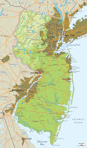 native plants of new jersey physical map of new jersey craft ideas pinterest lakes and city