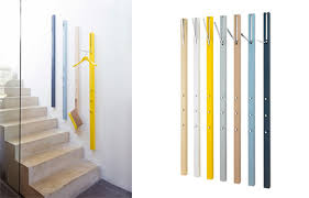 vertical coat accessory storage is functional modern art