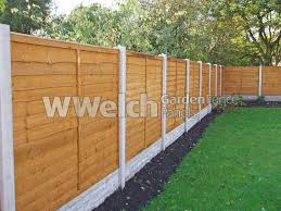 Garden Fencing Ideas Uk Welch Fencing Garden Fence Panels Concrete Posts