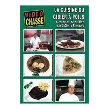 dvd recettes de cuisine ducatillon dvd cuisine du gibier à poils librairie et dvd