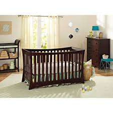 Convertible Crib To Twin Bed by Graco Tatum 4 In 1 Convertible Crib Espresso Baby Cribs Best