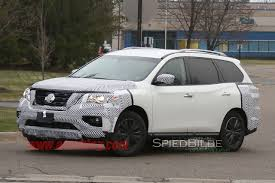 black nissan pathfinder 2016 2017 nissan pathfinder spy shots photo gallery autoblog