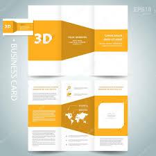 pasta de modelo 3d desenho dimensional folheto folheto amarelo
