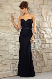 robe chic pour un mariage robe longue bleu nuit pour mariage en dentelle chic coupe sirène