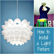 Installing Pendant Light Fixture How To Install A Light Fixture