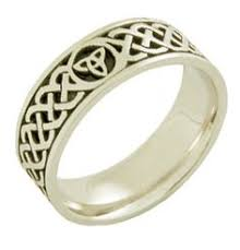 celtic rings meaning mens silver oxidized mo anam cara gaelic ring gaelic meaning