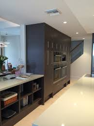 miele built in wall cabinets grey oak contemporary kitchen