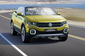 compact sports cars volkswagen t cross breeze concept the compact evoque convertible