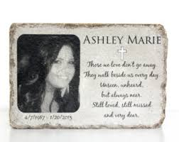 personalized memorial stones memorial etsy