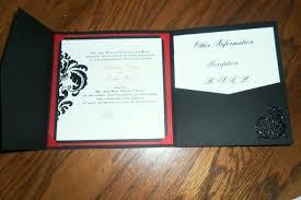 pocket invitation envelopes envelopme diy custom printed pocket fold invitations tri fold