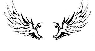 tribal angel wings tattoo designs tribal angel wings tattoo design