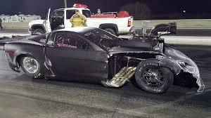 corvette car crash this kyle huttel crashes c6 corvette into bowman