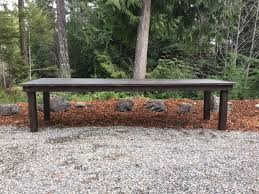 Park Bench And Table Table Bench U0026 Chair Rentals Olympic Farm Style Events