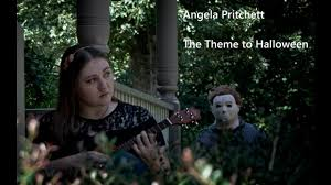 halloween cover photo halloween movie theme ukulele cover angela pritchett youtube