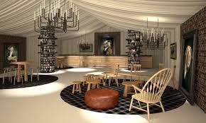 the hunt marquee by blackmilk interior design spaces