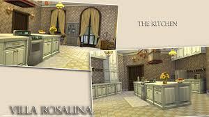 The Sims 2 Kitchen And Bath Interior Design Mod The Sims Villa Rosalina No Cc