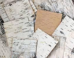 birch wrapping paper birch bark sheets etsy