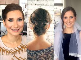 i tried 5 wedding hair and makeup trials and here u0027s what happened