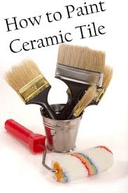 Tile Bathroom Walls by How To Change The Color Of Ceramic Tile Change Paint Ceramic
